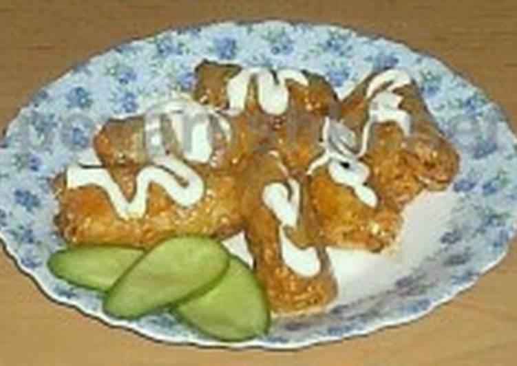 Голубцы из квашеной капусты с мясом