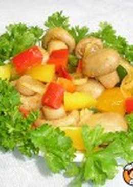 Салат из шампиньонов и яиц (II)
