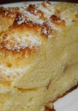 Перевернутый пирог с яблоком