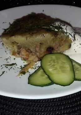 Картофельная бабка на сале