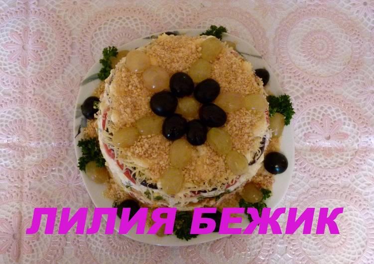 Закуски с ветчиной рецепты с фото