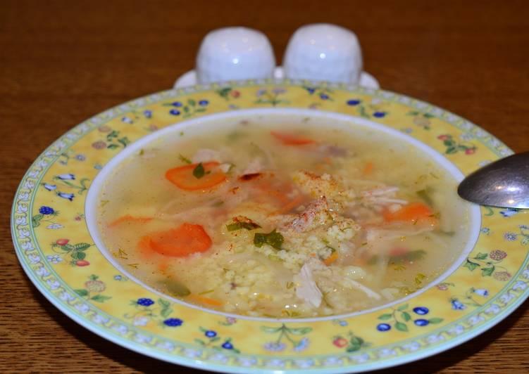 """Простой """"Крестьянский"""" суп"""
