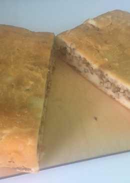 Пирог из шашлыка