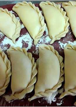 Вареники с творогом. Тесто для вареников. #кулинарныймарафон