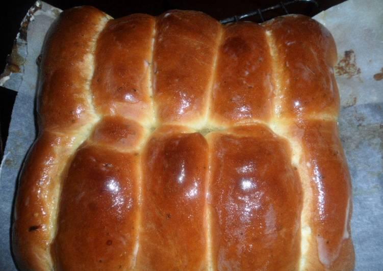 Мягкие чесночные булочки (хлеб)