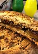 Пирог с сухофруктами #непп