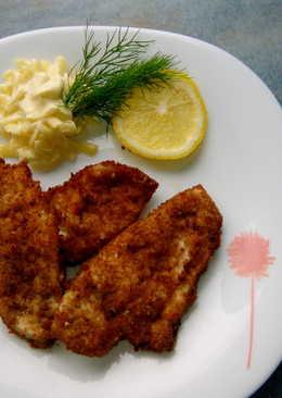 Филе цыпленка в панировочных сухарях