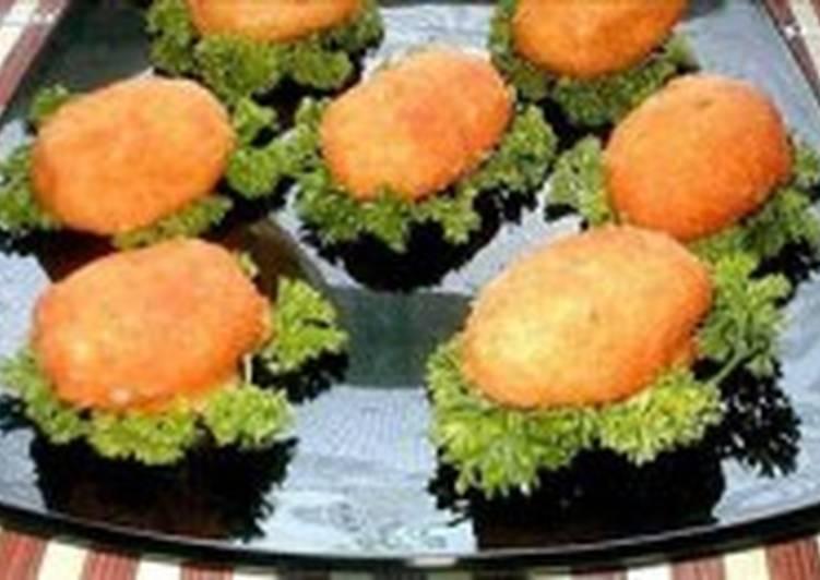 Сырные заварные пирожки