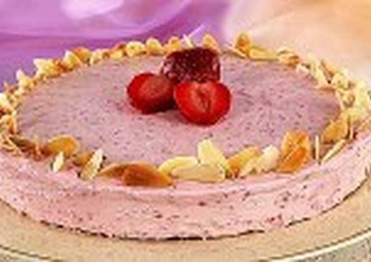 Ягодно-ореховый торт
