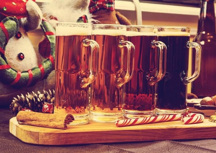Рождественское пиво, рецепт