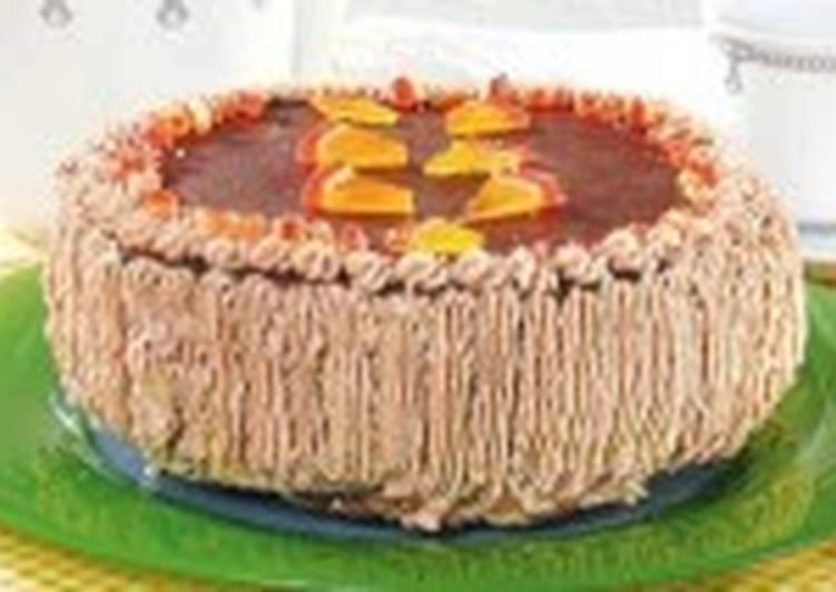 Торт «Гусиные лапки»