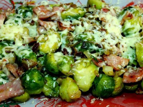Салат из брюссельской капусты \ salad from brusselsk cabbage