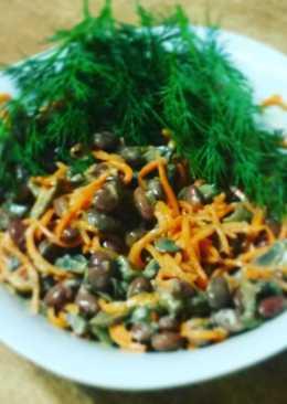 Вкусный постный салатик