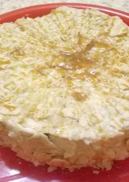 """Торт """"Наполеон"""" с черничкой"""