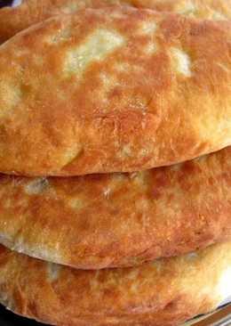 Пирожки жареные на кефире и твороге