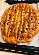 Пирог с черникой #летниедесерты