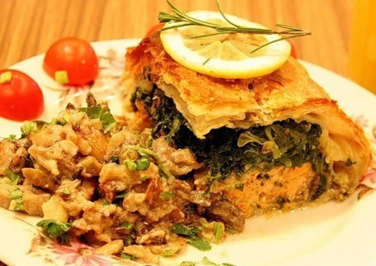 Грибной пирог «Аппетитный»