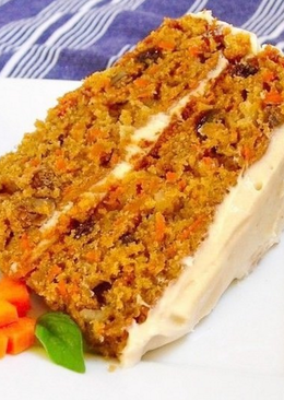 Морковный пп-пирог