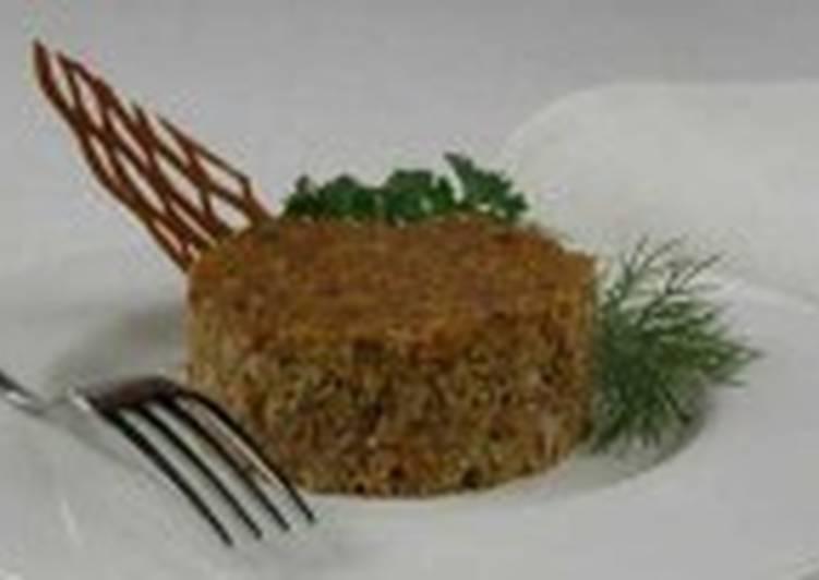 Запеканка мясная с овощами