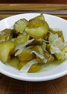 Салат из огурцов на зиму