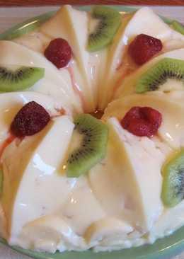 """Фруктово – желейный десерт. назову его """"Сугробик"""" или """"Теплое мороженое"""""""
