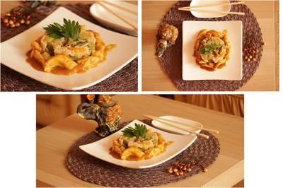Филе курицы по-тайски с азиатским рисом