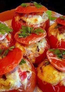 №1 Помидоры, фаршированные мясным салатом #чемпионатмира #россия