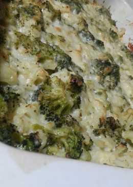Цветная капуста и брокколи в сливочном соусе