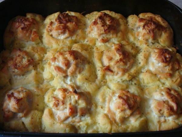 Картофельные Гнезда с Куринной Грудкой