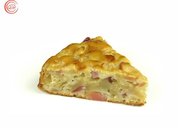Яблочный пирог на кефире. Очень вкусный