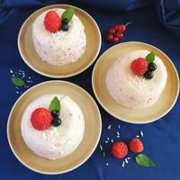 Йогуровое желе с ягодами #летниедесерты