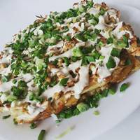 Окономияки (пицца)🍕 #чемпионатмира #япония