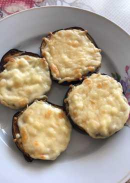 Запечённые баклажаны с сыром