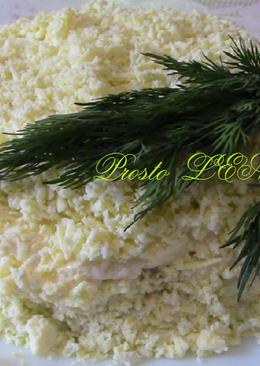 """Салат """"Мимоза"""" с сыром. Нежный, вкусный и очень сытный салат"""