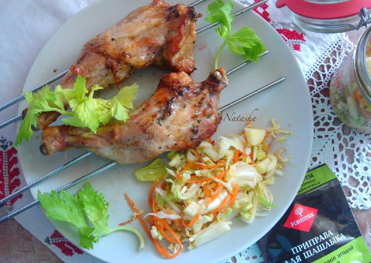 Куриные окорочка-гриль