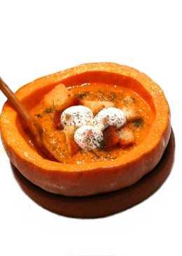 Тыквенный суп по-деревенски