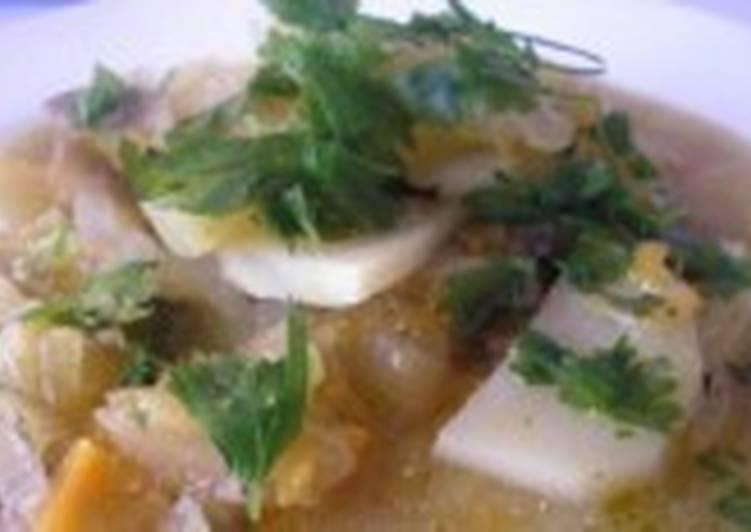 Картофель с капустой по-селянски