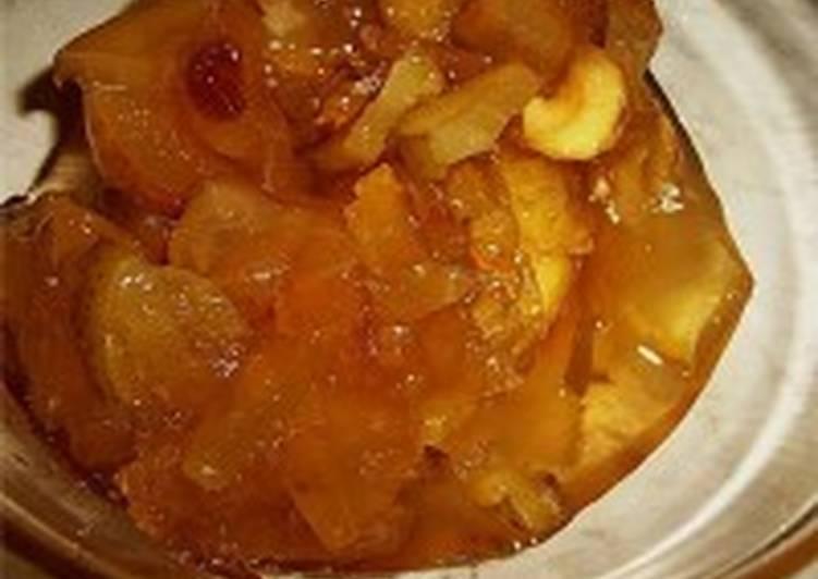 Компот яблочный со сливами и грушами