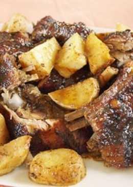 Рецепт баранины в духовке с картошкой