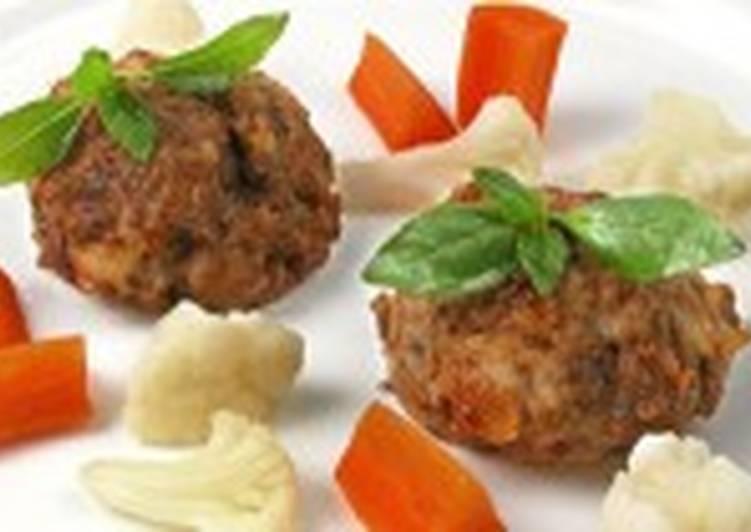 Клецки мясные с картофелем