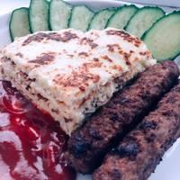 «Колбаски по-немецки с гарниром из кабачков» #чемпионатмира #германия