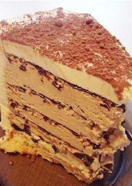 """Торт «Кофе с шоколадом» без ДУХОВКИ"""""""