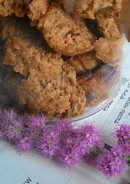 Сухарики с орешками