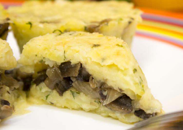 Улетная закуска из картофеля, грибов и сыра. Гости будут в ВОСТОРГЕ