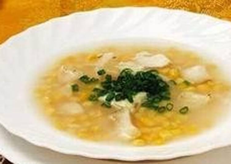 Рыбный суп с кукурузой