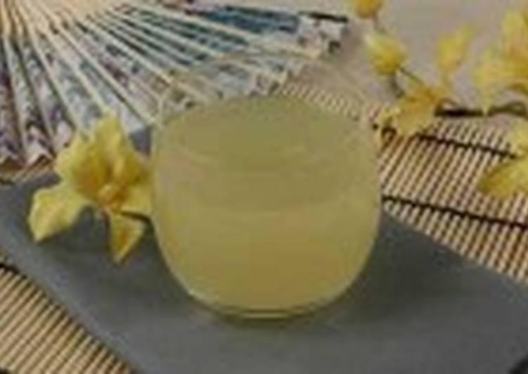 Кисель из ананасового сока