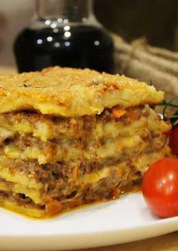 Класическая итальянская лазанья