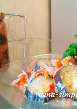 Салат из баклажанов. Вкусные заготовки #заготовки
