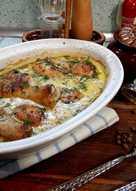Курица в горчичном соусе с грибами (по рецепту Энди шефа)