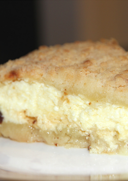Ленивый творожный пирог